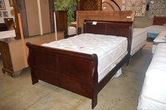 Full Sleigh Bed Frame in Fort Lewis, Washington