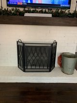 Fireplace Metal Screen in Kingwood, Texas