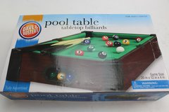 Tabletop Pool Table in Naperville, Illinois