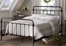 BRAND NEW Metal/Iron KING Bed in Leesville, Louisiana