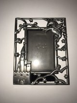 Unicorn and Castle Metal Picture Frame in Fort Leonard Wood, Missouri