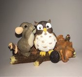 Mouse and Owl on a Log with Acorns Figurine in Fort Leonard Wood, Missouri