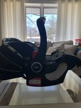 Graco Car Seat with Base and Baby Mirror in Glendale Heights, Illinois
