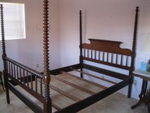 Tall Post Antique Spool Bed in Alamogordo, New Mexico