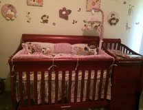 Baby crib with changer and three drawers in Olympia, Washington