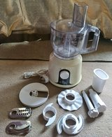 220V FOOD PROCESSOR WITH LOTS OF ATTACHMENTS in Lakenheath, UK