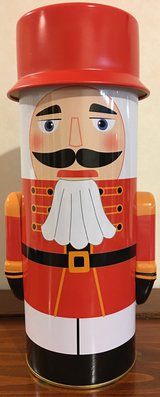 Nutcracker Candy Tin in Okinawa, Japan