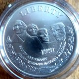 1991 Mount Rushmore Golden Anniversary Silver Dollar in Ramstein, Germany