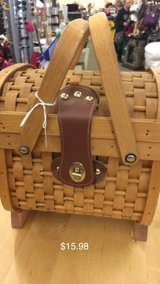 Basket with fabric liner in Fort Leonard Wood, Missouri