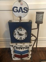 Rustic Vintage Gas Pump Replica in Kingwood, Texas