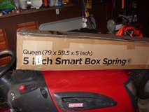 5 inch smart box spring - new - queen in Fort Knox, Kentucky