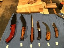 Custom made knives - must sell! Lot 1 in Glendale Heights, Illinois