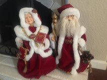 Mr. and Mrs. Santa Claus in Camp Pendleton, California