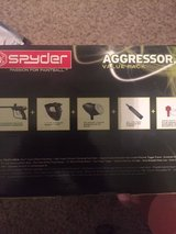Spyder Aggressor Value Pack paint ball set with box of paint balls in Houston, Texas