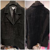 D&Co Suede Jacket New with out tags in Orland Park, Illinois
