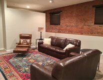 Leather Sofa and Loveseat in Chicago, Illinois