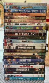 Lot of 24 DVDs in Beaufort, South Carolina