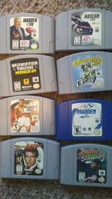 n64  system games and 2 cont in Fort Leonard Wood, Missouri