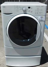 FRONT LOAD KENMORE ELITE HE2 PLUS WASHER WITH STAND in Oceanside, California
