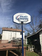 Bud Light Basketball Goal in Fort Benning, Georgia