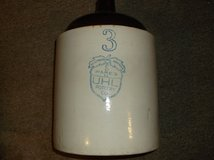 UHL Pottery Company, Acorn Wares, 3 gallon stoneware jug in Chicago, Illinois