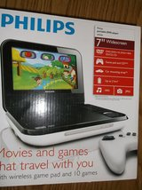 Philips portable DVD Player (never used) in Shorewood, Illinois