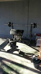 Olympic Weight Bench With EVERYTHING in Alamogordo, New Mexico