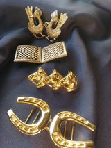 Vintage Doty Smith/MiMi belt buckles in Yucca Valley, California