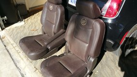 BUCKET SEATS BROWN LEATHER in Camp Pendleton, California
