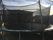 15 foot trampoline w/Enclosure in Fort Bliss, Texas
