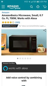 Amazon Basic Microwave in Fort Bliss, Texas