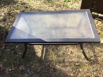 Glass top table in Fort Rucker, Alabama