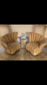Gorgeous High End Art Deco Chairs in Joliet, Illinois