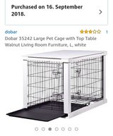 Dog pet box table cage kennel in Ramstein, Germany
