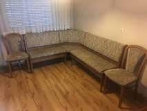 Reduced Dinning sofa with storage plus 2 single chair in Stuttgart, GE