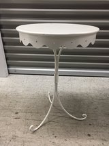white metal stand/plant stand in Aurora, Illinois