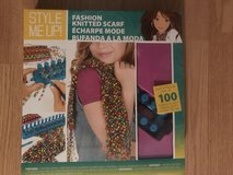 Fashion knitted Scarf Kit in Oswego, Illinois