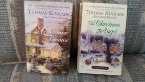A CHRISTMAS PROMISE & THE CHRISTMAS ANGEL, by Thomas Kincade, Books #5 & #6 in Byron, Georgia