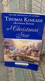 A CHRISTMAS STAR, by Thomas Kincade & Katherine Spencer,  Book #9 in Byron, Georgia