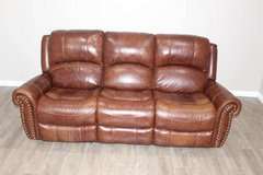 Leather Electric Recliner- Brown in Houston, Texas