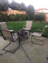 Outside Patio Furniture and Fire Pit in Travis AFB, California