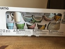 New unopened tea set in Fort Lewis, Washington