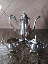 Oneida silver 3 pc coffee set in Spring, Texas