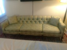 95 inch Chesterfield Fabric Sofa in Beaufort, South Carolina