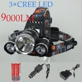 CREE LED 9000LM Headlamp/light in Bellaire, Texas
