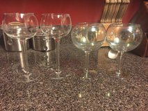 Various drinking glasses and shot glasses in Oswego, Illinois