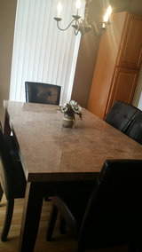 Marble dining  table in Naperville, Illinois