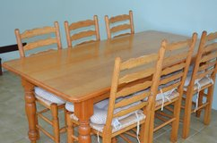 dining table 6 chairs in Lakenheath, UK