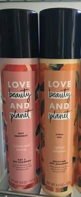 2 Love Beauty & Planet Dry Shampoo in Perry, Georgia