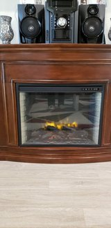 Electric fireplace in Conroe, Texas
